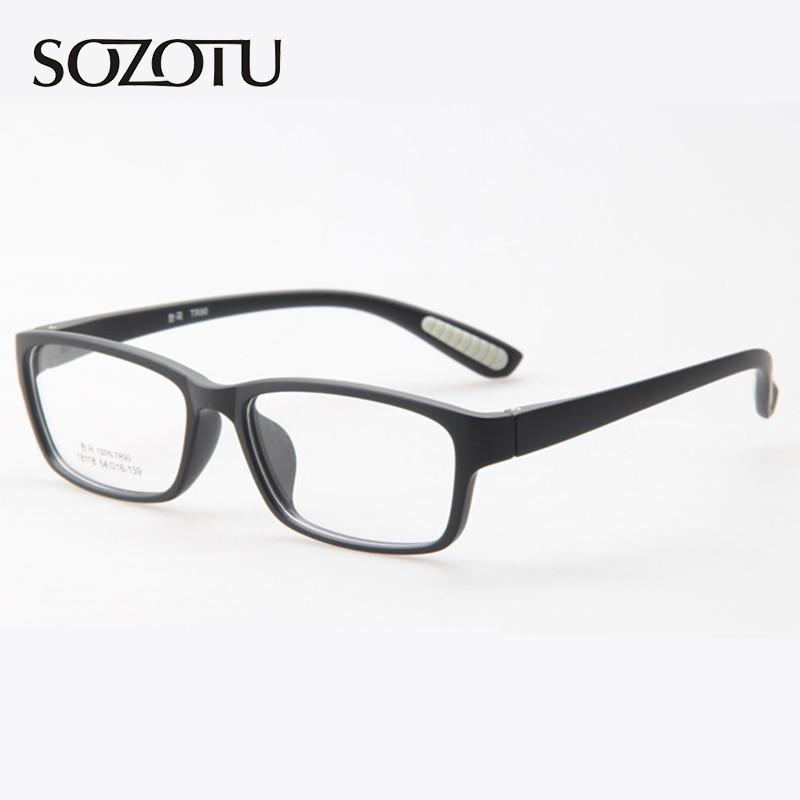 Montura de gafas ópticas para hombre, montura de gafas para ordenador, montura de gafas para hombre, lente transparente, Armacao de YQ152