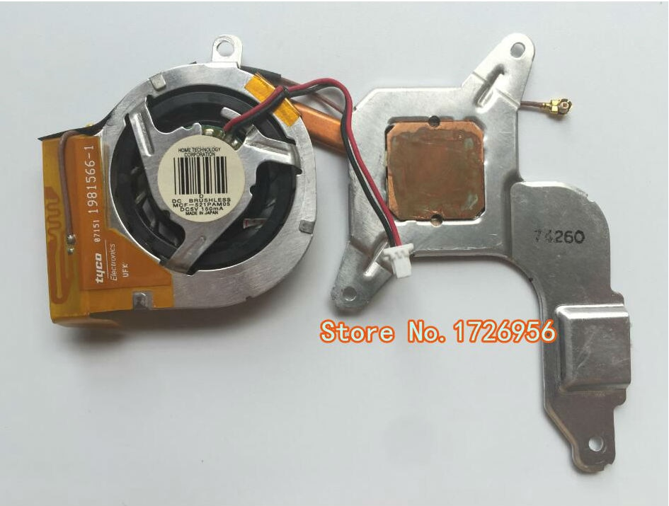 Portátil enfriador de CPU de ventilador y disipador de calor para SONY VGN-TZ TZ13 TZ33 TZ27 TZ3 PCG-4L1T 4N1T 4N2T 4L2T 4M1T 4NAP MCF-521PAM05