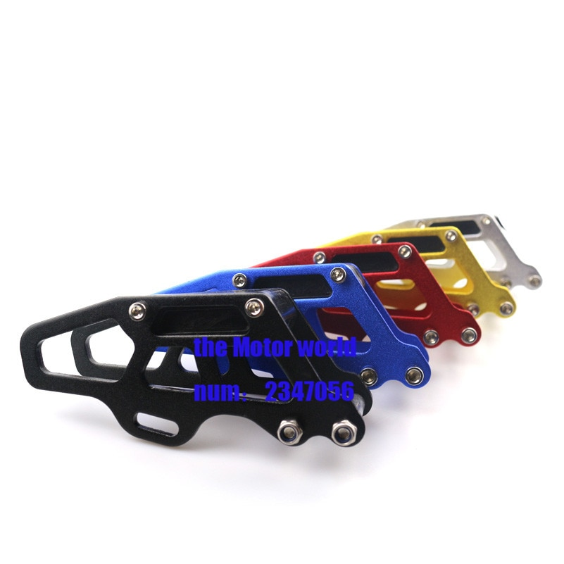 Guía protectora de cadena de motocicleta Slider de buena calidad para Honda CR CRF 125 250 450R partes de Motocross todoterreno