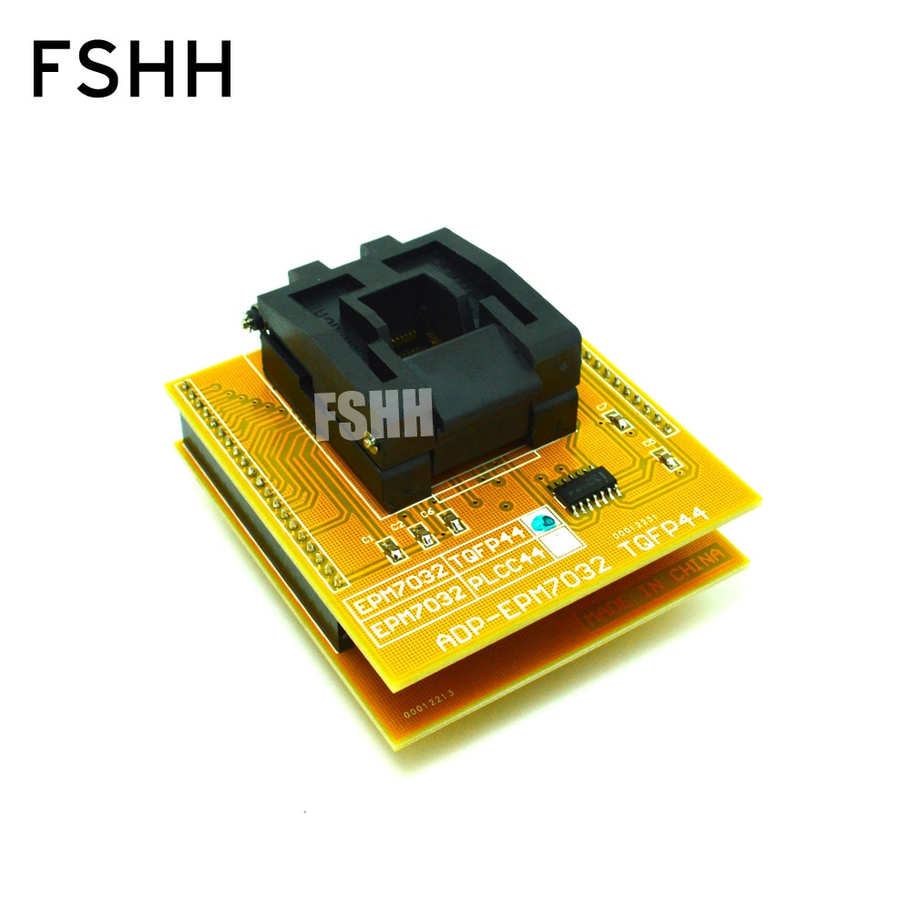 QFP44-ADP-EPM7032 programmer adapter for ALL-11 programmer TQFP44 to DIP40 socket best price carprog full v4 1 21 adapter programmer with all softwares radios odometers dashboards immobilizers