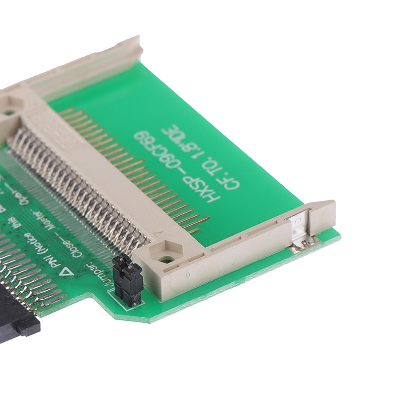 "Adaptador convertidor flash compacto CF a 1,8 ""IDE 50 Pin Disco Duro adaptador de tarjeta elevadora"