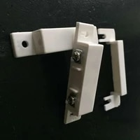 Capteur de porte et fenetre filaire 10 pieces lot   Detecteur  interrupteur magnetique NC ferme normalement pour notre systeme dalarme de securite a domicile
