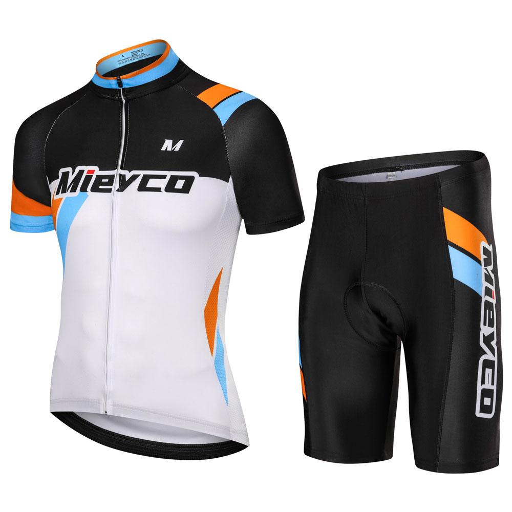 Conjunto de Ropa de Ciclismo para hombre, Maillot y Culotte de secado...