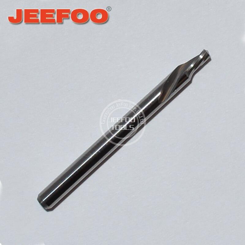 3.175*2,5*4 piezas de enrutador CNC de carburo cortado espiral izquierda de una flauta/Herramientas CNC/fresado final Serie AA
