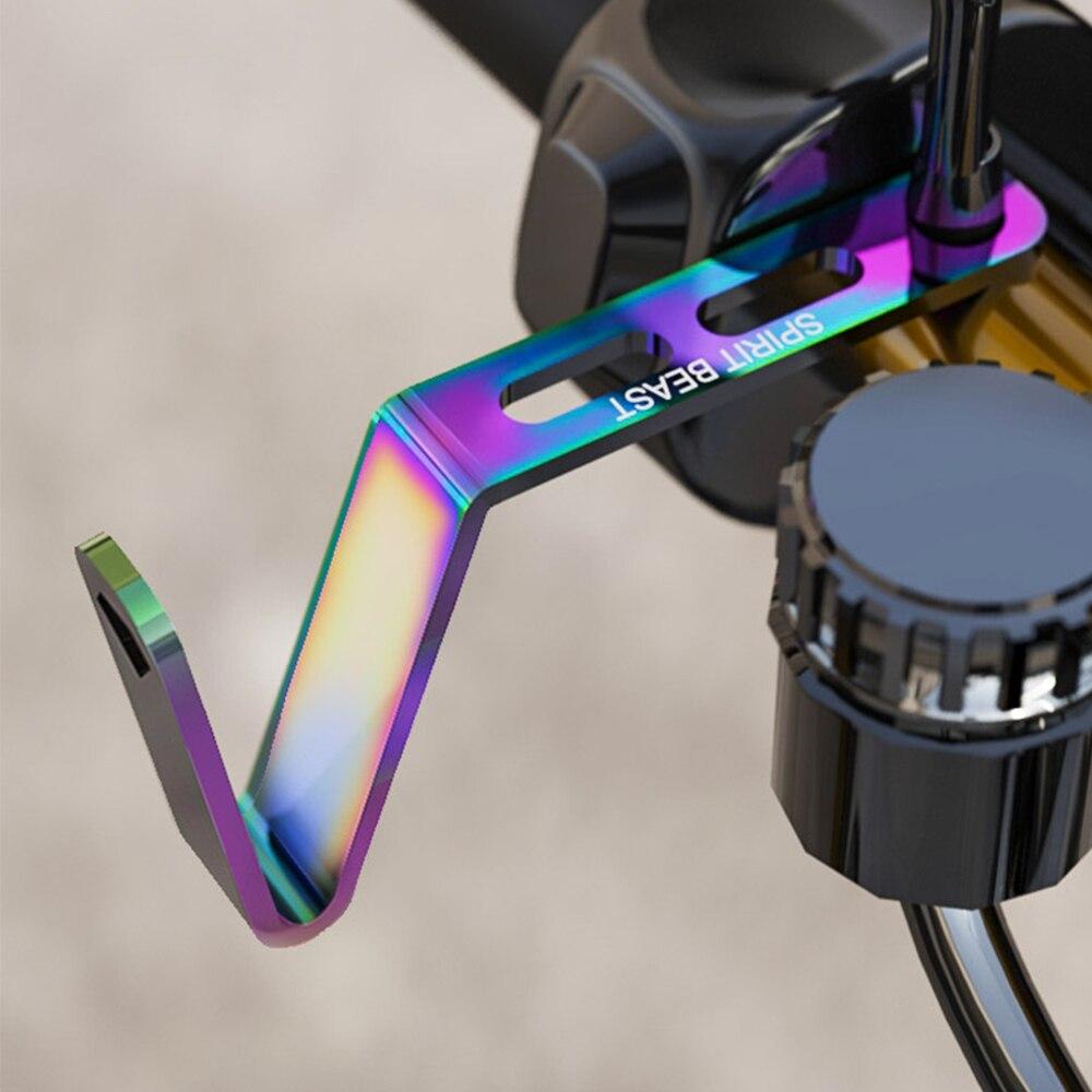 SPIRIT BEAST Universal Motorcycle Hook Extension Bracket Helmet Hooks for Honda Yamha Suzuki HUSABERG Indian DUCATI Triumph BMW