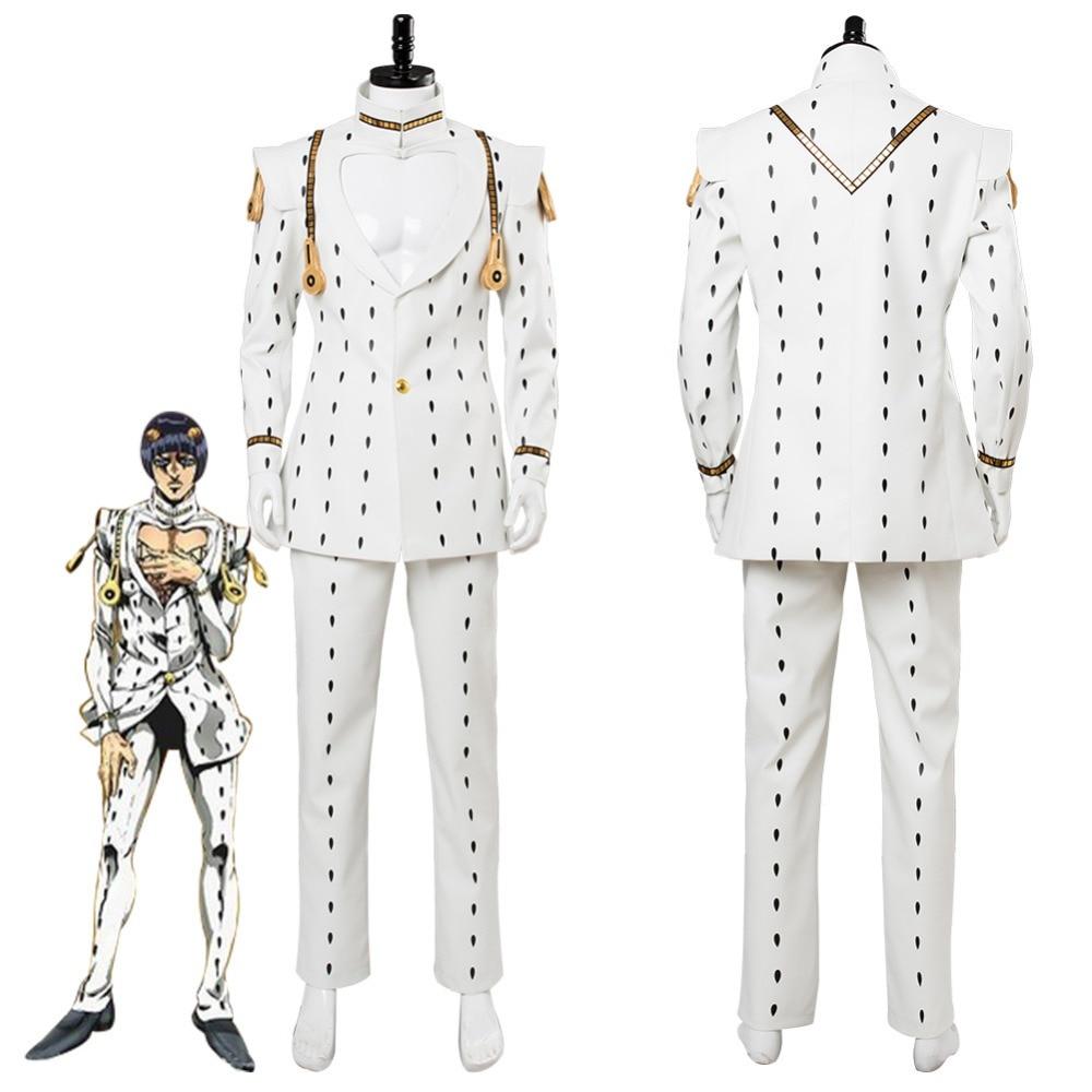 JoJos Bizarre Adventure Golden Wind Bruno Bucciarati Cosplay Costume Suit Halloween Carnival Costumes Full Set Custom Made