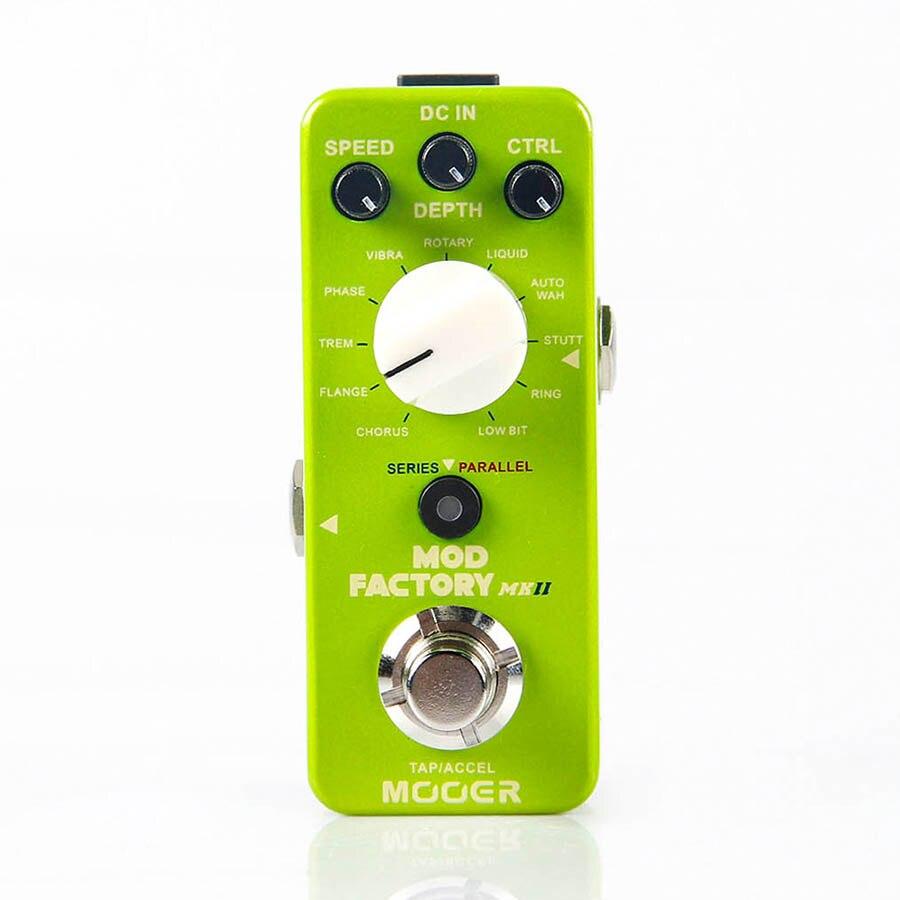 MOOER el Pedal de efecto de guitarra de modulación de fábrica Mod recogido 11 tipos de efecto de modulación clásica