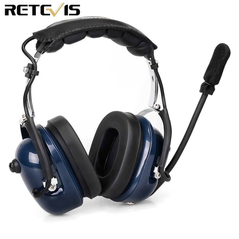 Eh050k redução de ruído aviação mic fone de ouvido vox ajuste volume alto-falante com dedo ptt para kenwood baofeng UV-5R retevis h777