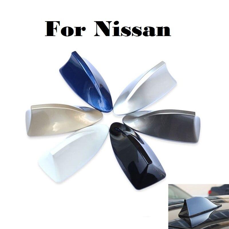 2017 para Nissan Maxima Micra Moco Murano nota rt Fairlady Z Figaro Fuga de coches de radio alerón con forma de aleta de tiburón antenas de señal tiburón