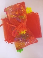 2000pcs organza bag 17x23cm drawstring pouch weddingbirthdaychristmas gift bags for jewelry packaging display bags storage bag