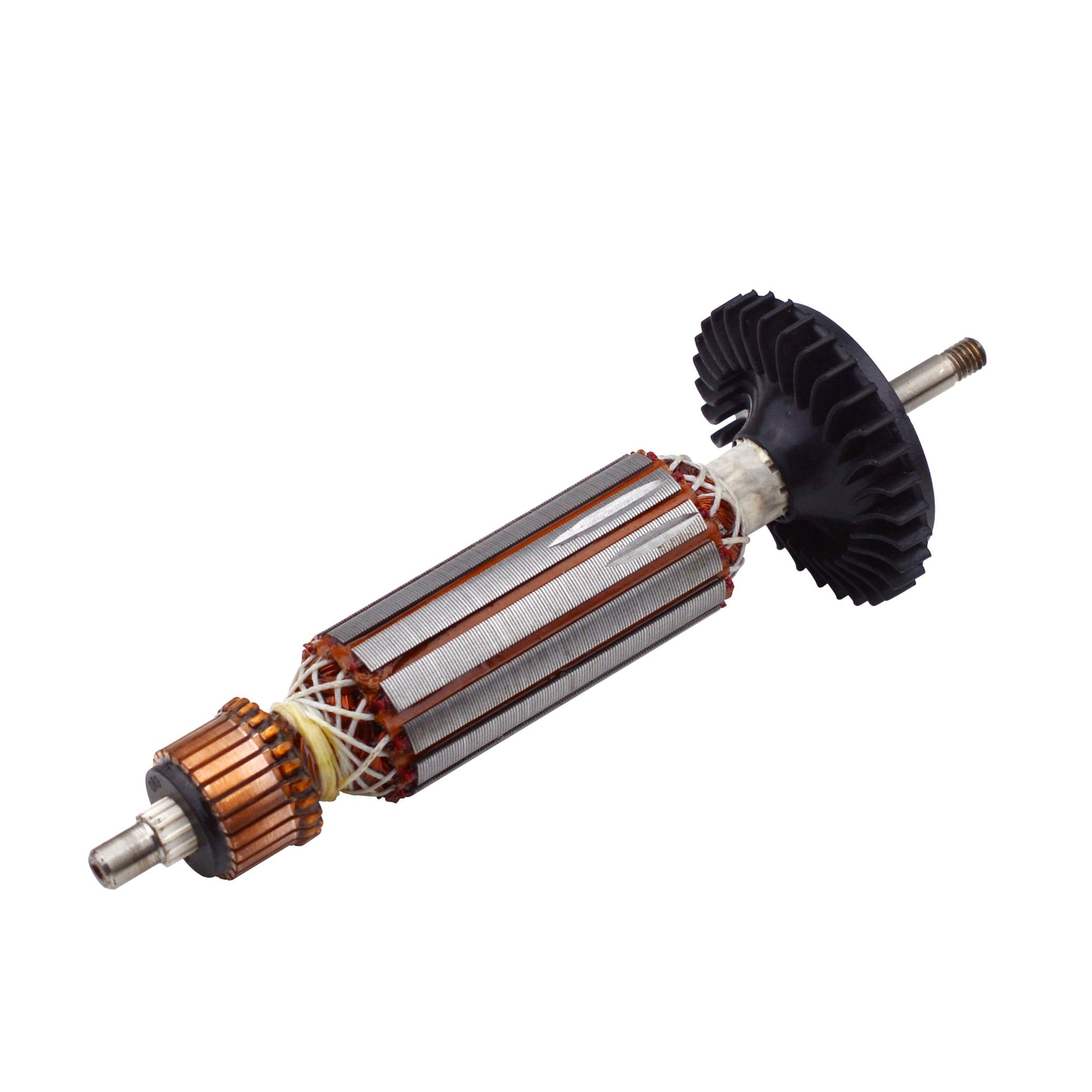 Reemplazo del Rotor de armadura AC 220 V/230 V para BOSCH GWS7 GWS 7-100 GWS 7-125 piezas de repuesto de amoladora angular