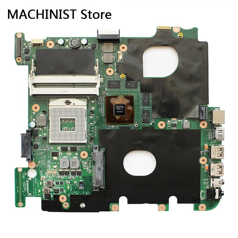 Dorigine Pour ASUS N43S N43SN N43SM N43SL REV2.0 ordinateur portable carte mère HM65 DDR3 GT540/1G PGA989