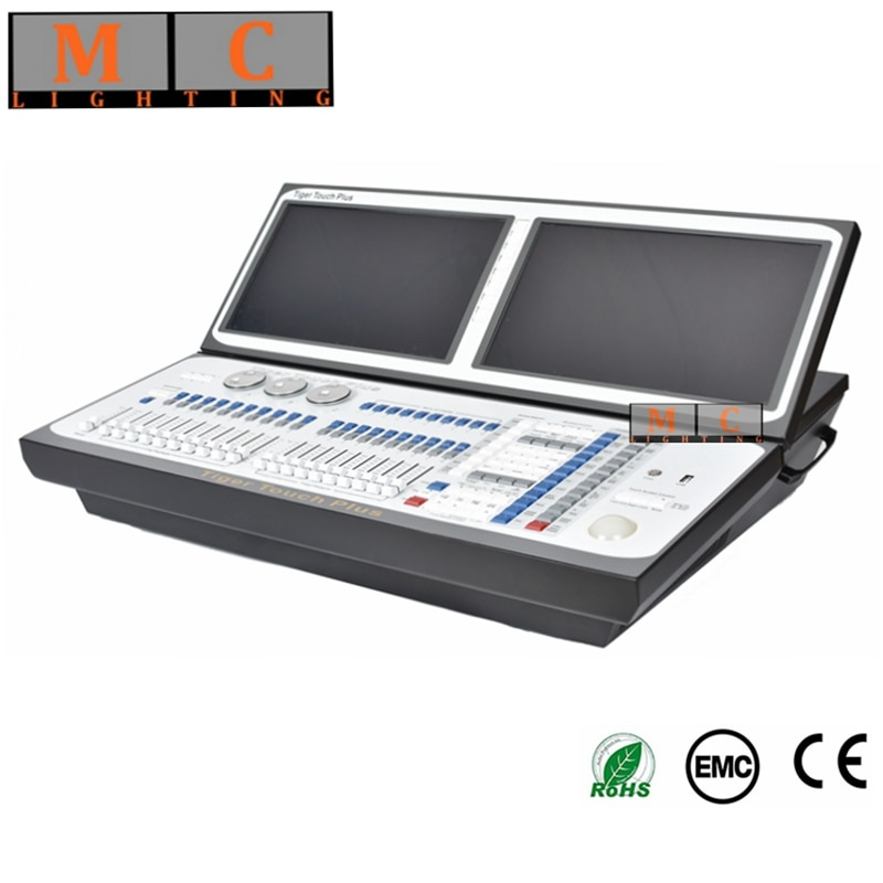 Tiger touch plus Titan  V11.1 dmx console with flycase