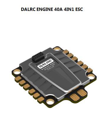 DALRC ENGINE 40A 4IN1 ESC BLheli32 DShot 1200 for DIY FPV quadcopter drone