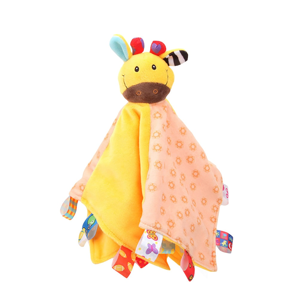 Manta suave para bebé recién nacido, marioneta de Animal, juguete para regalo, edredón para bebé, manta suave para niños, alivia el estrés pegajoso, juguete divertido para niños, regalo