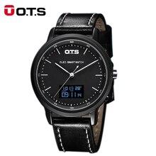 OTS Marke männer Sport Uhren Outdoor Wasserdicht Kalorien Uhr Kompass Männer Uhr