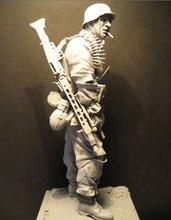 1/16  Unpainted Resin Figure machine gunner