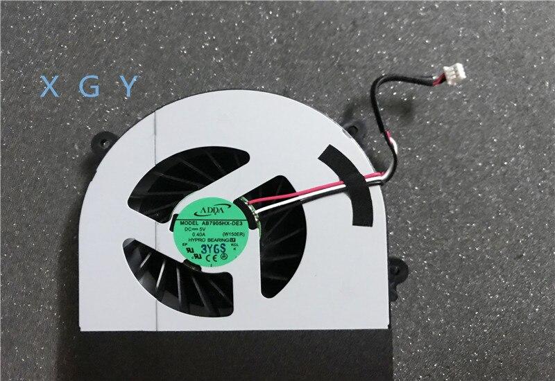 Ventilador original Para Clevo W150 W150er W350 W350ETQ W370ETQ W370SKQ CPU Cooling Fan 6-23-AW15E-011 100% teste OK