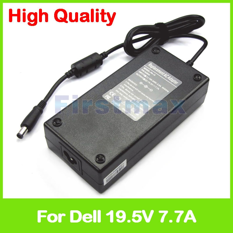 19,5 V 7.7A 150W adaptador de alimentación de CA para DELL XPS L401X L501X L702X PA-5M10 PA1151-06D PA-5M10 PH298 R940P W7758 cargador/adaptador de CA