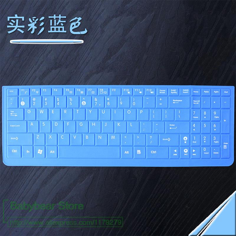 Laptop 15 Polegada Silicone Para Asus N56Vz N56 N56Vm Vx7 G53 G53S G53Sw N51 N53S N53J N53D N53T Protetor Tampa Do Teclado