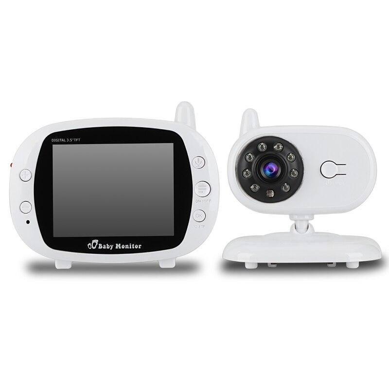 Gision 3.5 بوصة lcd ir للرؤية الليلية مراقبة الطفل ، اللاسلكية الحرارة وقت العرض ، رصد الفيديو ، way نقاش GS-850