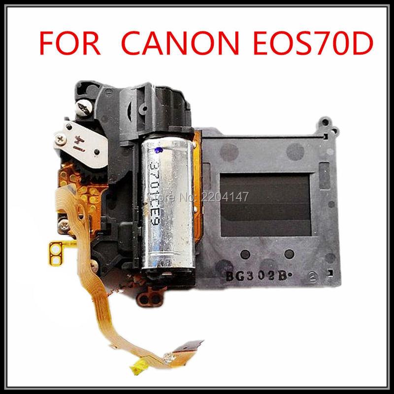 كاميرا رقمية SLR أصلية 100%, قطع غيار وملحقاتها 70D مجموعة مصراع لكانون