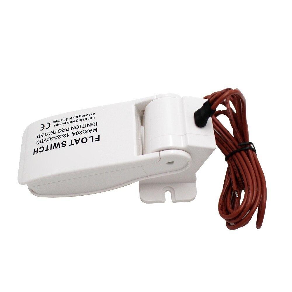 Bilge Pump Switch Float Electric Boat Marine Water Level Controller DC Flow Sensor Switch From Makerele