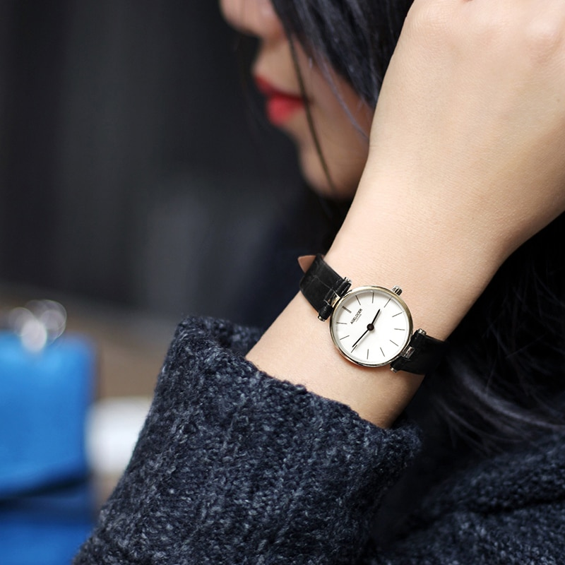 AGELOCER Women Leather Watches Montre Femme Lady Movement Quartz Wristwatches relogio feminino DROP SHIPPING enlarge