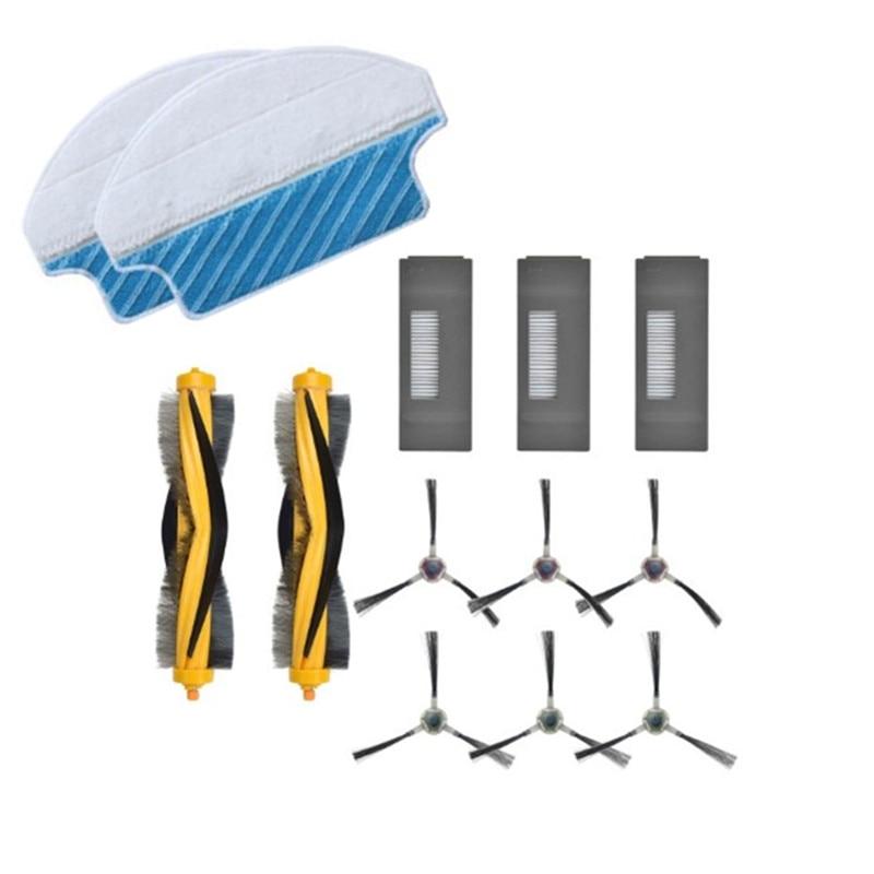 Robot Cleaner Main Side Brush Mop Cloth Filter for Ecovacs DEEBOT M80 M80 Pro DT85 DT83 DM81 DM85 Vacuum Cleaner Filter Parts