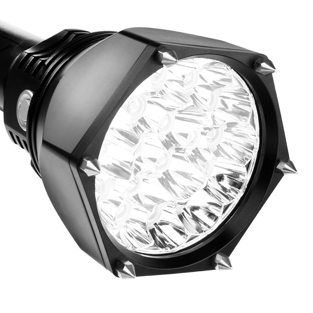 Sofirn SF22 Powerful Mace LED flashlight 18650 Original 18*Cree XML2 6000lm Self-defense Military Tactical Flashlight Adjustable enlarge