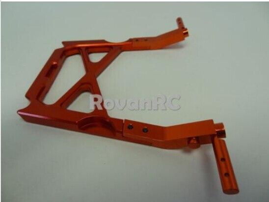 Nuevo Rovan aluminio, jaula de rodillo central soporte abrazadera compatible HPI Baja Buggy 5B 5T SS