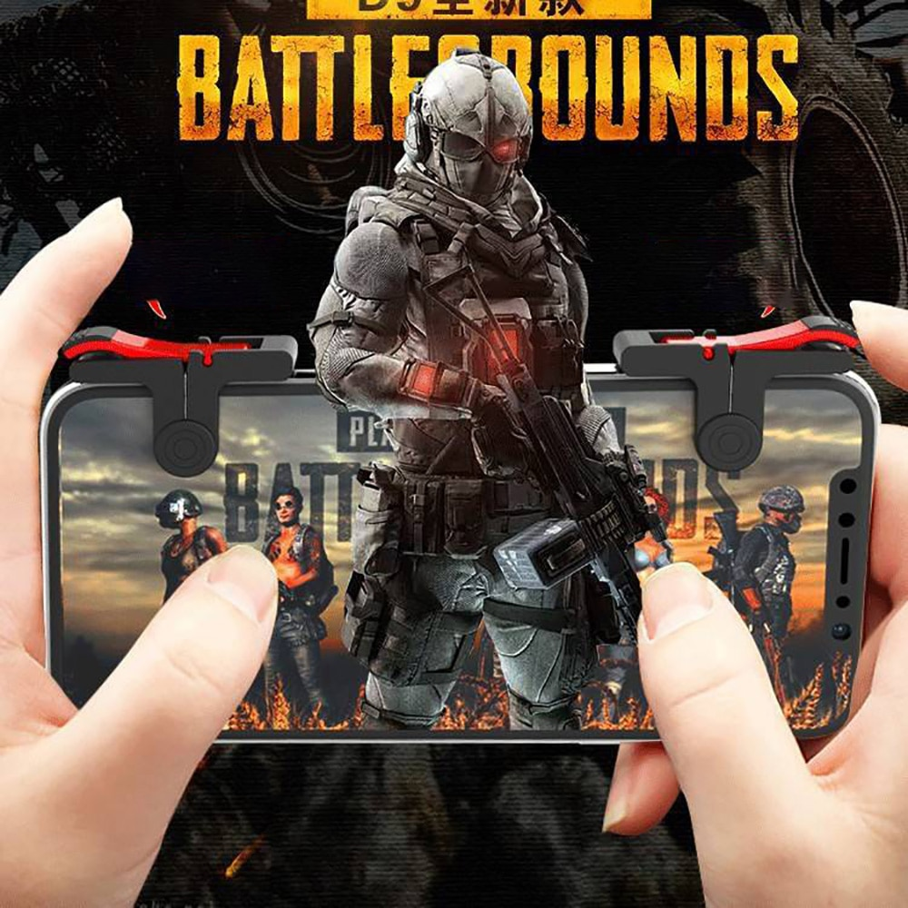 D9 Gamepad Joystick For Mobile phone D9 Shooting game auxiliary handlefor iphone Android tablet Game Controller For Xiaomi