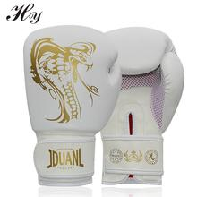 Gants de boxe pour Sparring 10 oz PU Muay Thai gants de boxe Sanda Kungfu Wushu hommes combat sac de sable entraînement luvas boxeo Guantes