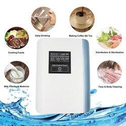 Ozônio Purificador de Água do agregado familiar com o Alemão Pantent para Fins Residenciais Beber Água Legumes Frutas alimentos de limpeza do corpo