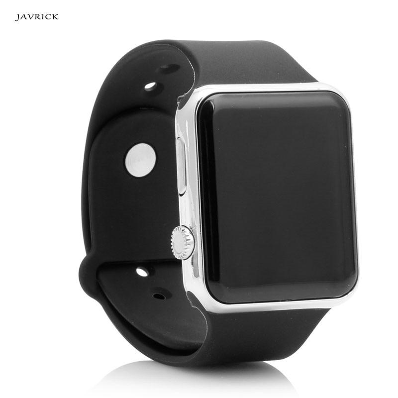 Мужские Силиконовые часы JAVRICK, светодиодный цифровой спортивный браслет унисекс, наручные часы черного цвета
