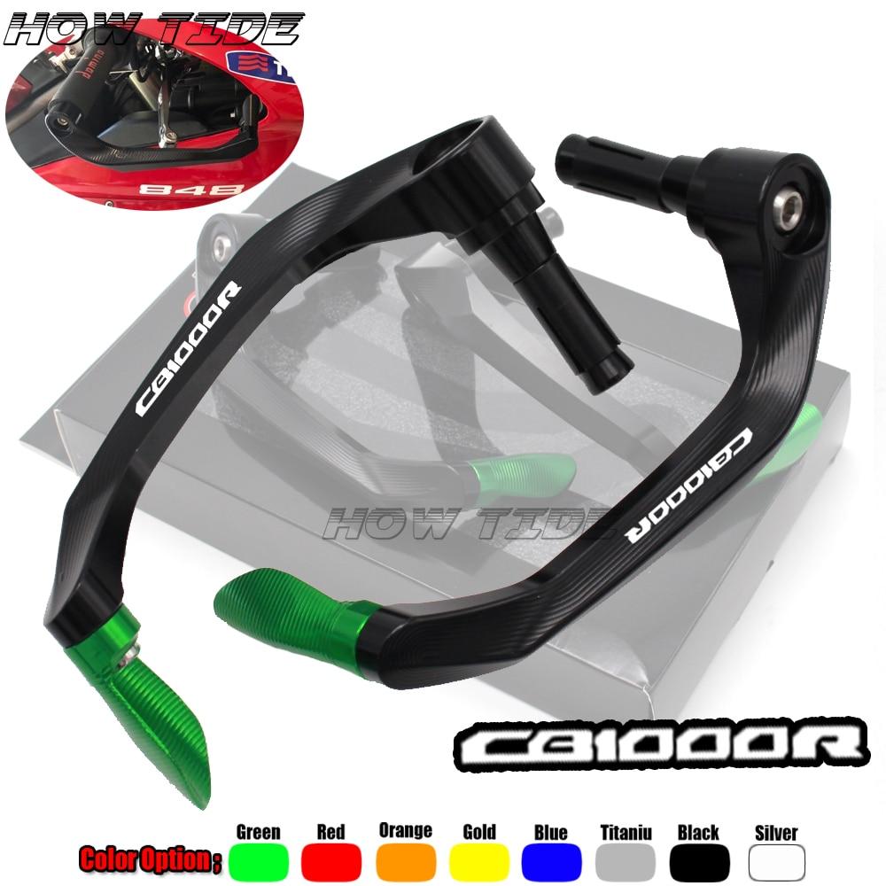 "Universal de 7/8 ""22mm de la motocicleta Freno de manillar protector de palancas de embrague para HONDA CB1000R CB 1000R 1000 R"