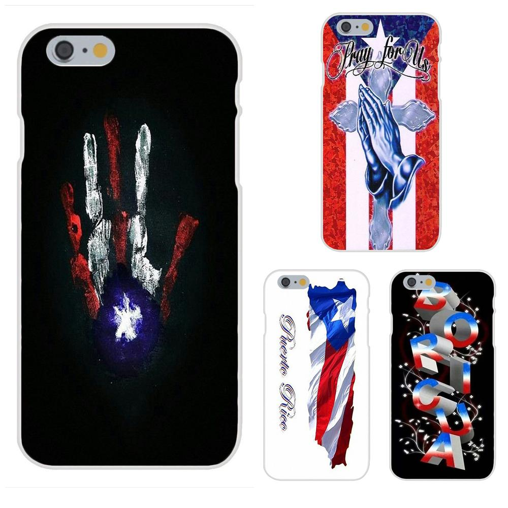 Bandera de Puerto Rico para Galaxy A3 A5 A7 A8 A9 A9S...