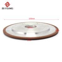 150mm Diamond Grinding Wheel Resin Grinding Disc Saw Blade 150 Grit 75%