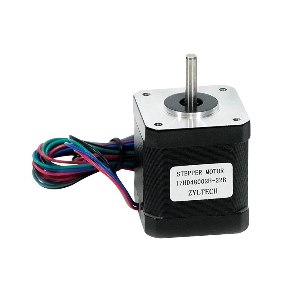 Oz 84 17 Nema Motor De Passo 1.7 A 0.59 Nm. em 48mm Corpo w/1 m Cable & para