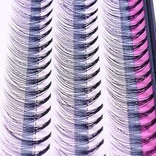 De moda 60 uds maquillaje profesional cúmulo Individual pestañas injerto falsas pestañas con envío gratis