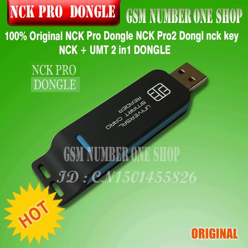 100% 2020 Original nuevo NCK Pro Dongle NCK Pro 2 DONGLE nck clave NCK DONGLE + UMT Dongle 2 in1