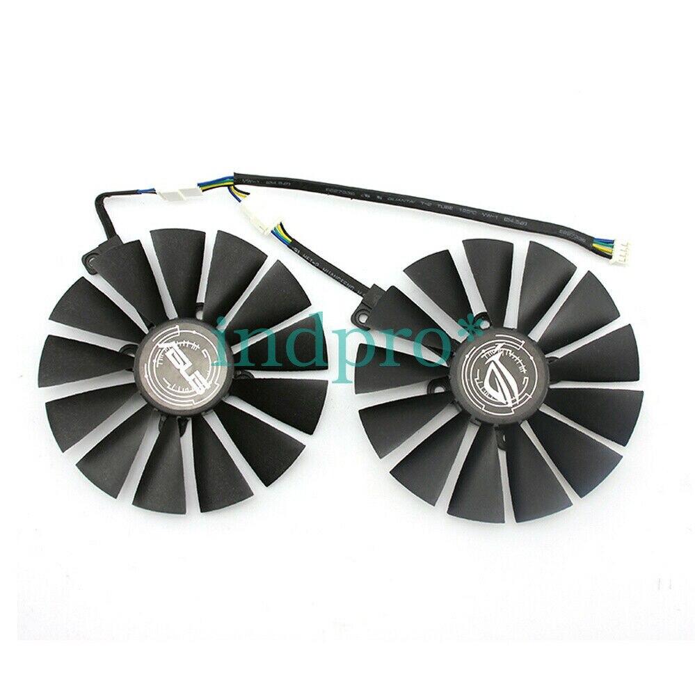 Conjunto para Asus Ventilador de Refrigeração Dual Rx580 Gtx1080ti 1070ti 12v 0.25a Rx470 1 – Rx570