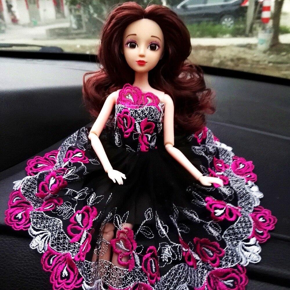 Muñeca de juguete para niña, cuerpo movible con hermoso vestido de boda para muñeca de princesa, muñeca de moda, regalo para niñas