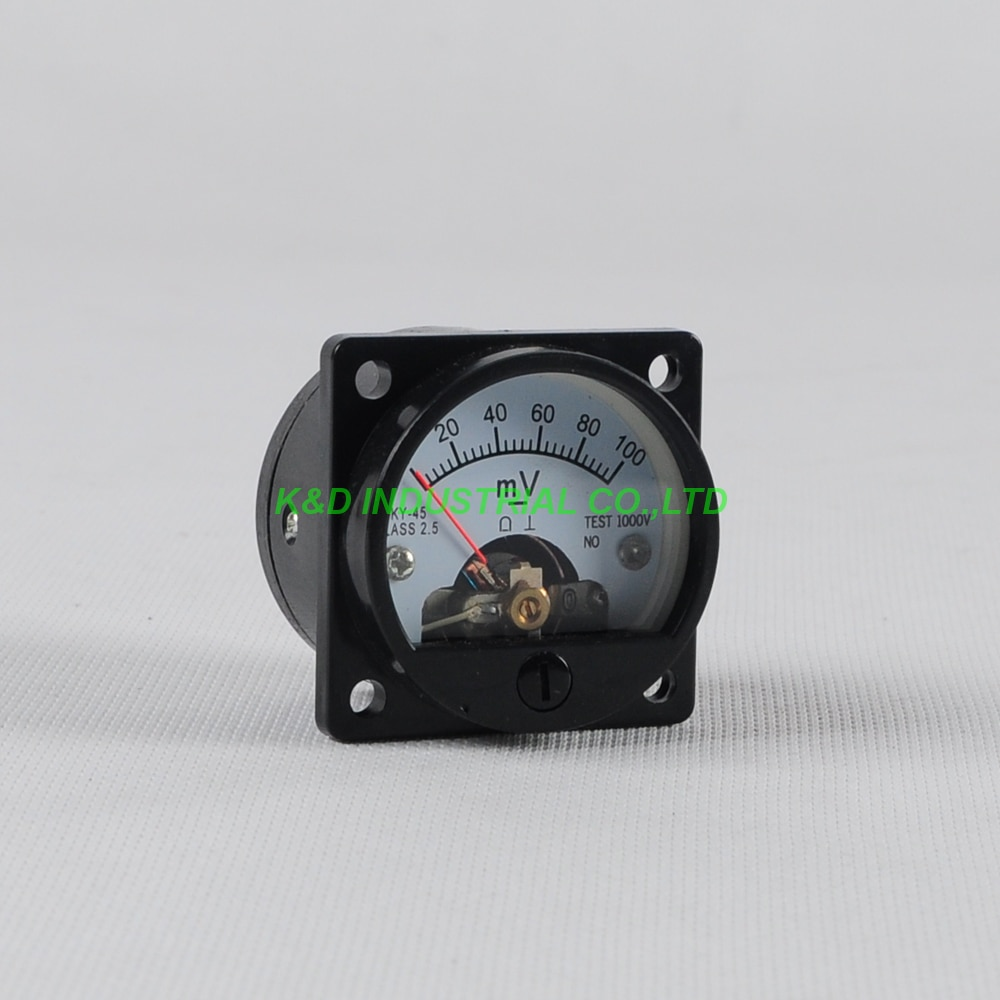 1pc de SO45 medidor de contador de panel negro para 300B 2A3 845 50 amplificador de tubo