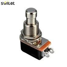 Bouton poussoir SPST SPST SPST tactile   Pédale de pédale de pied, interrupteur de guitare électrique offre spéciale 1 pièce