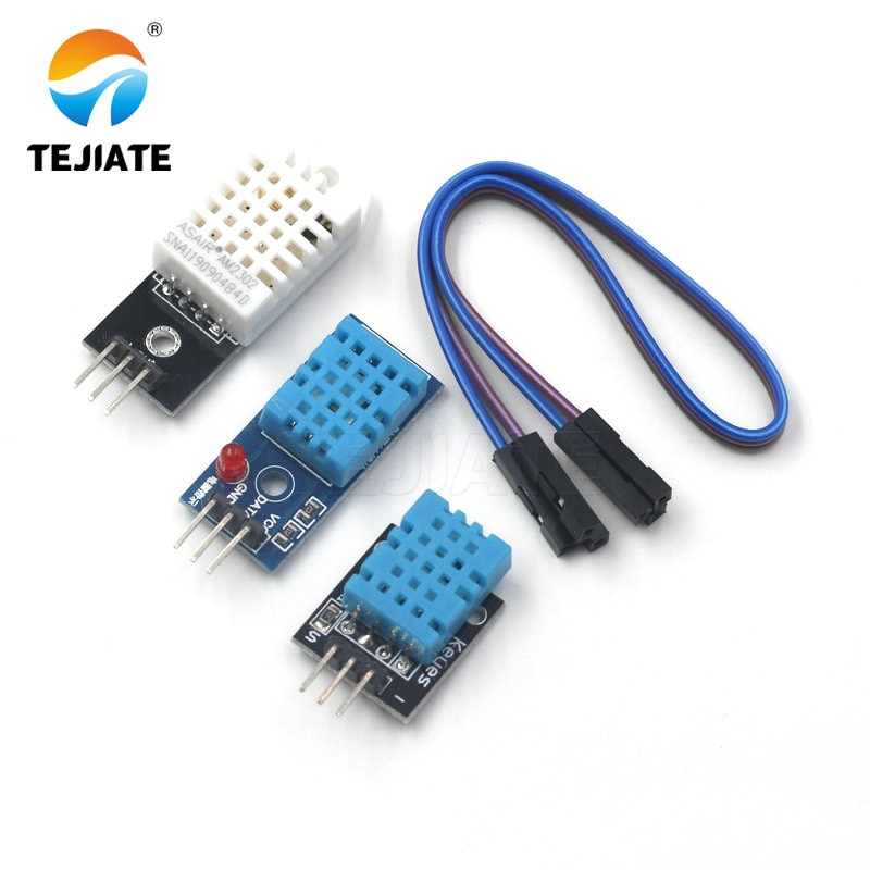 AM2302/DHT22 DHT11 KY-015 Temperature and Relative Humidity Sensor Module with