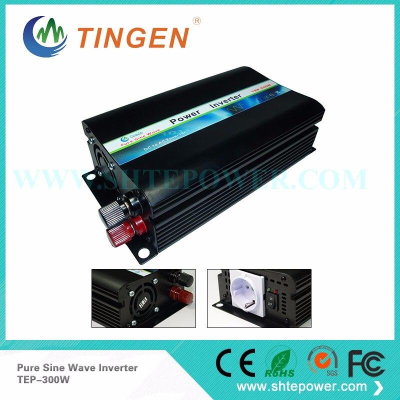 Inversor/inversor de sistema Solar de onda sinusoidal pura de 48v a 230v CA de 300W