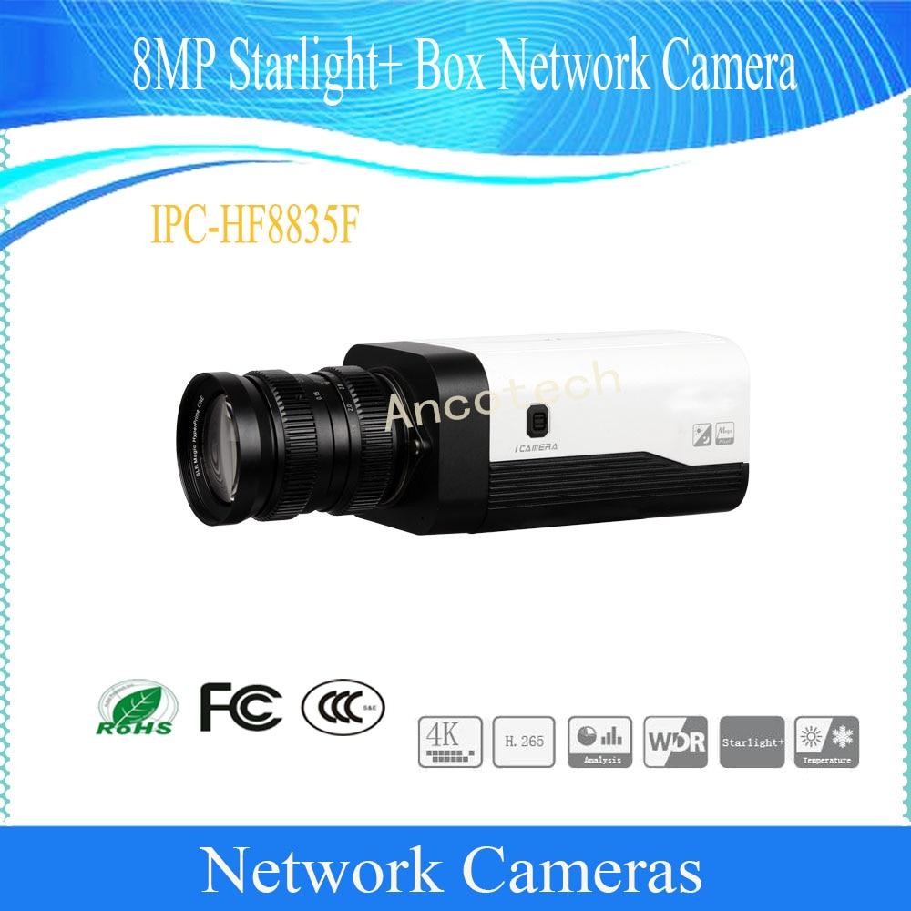Envío Gratis DAHUA cámara IP CCTV 8MP WDR caja red cámara con POE sin logotipo IPC-HF8835F