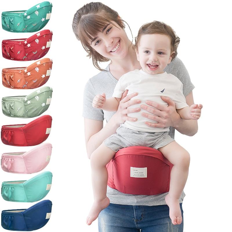 70-120cm cinturón portabebés taburete Walkers Baby Sling Cinturón de sujeción mochila Hipseat belt Kids Infant Hip Seat