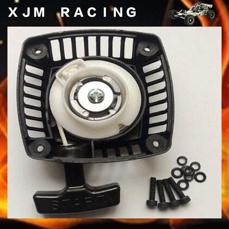 Pull Starter (Metal claw centered) start for 23cc 26cc 29cc 30.5cc engine zenoah CY for 1/5 hpi baja 5b rovan LT Losi 5ive-t